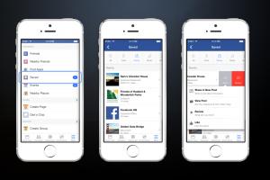 Sauvegarder une page web sur Facebook